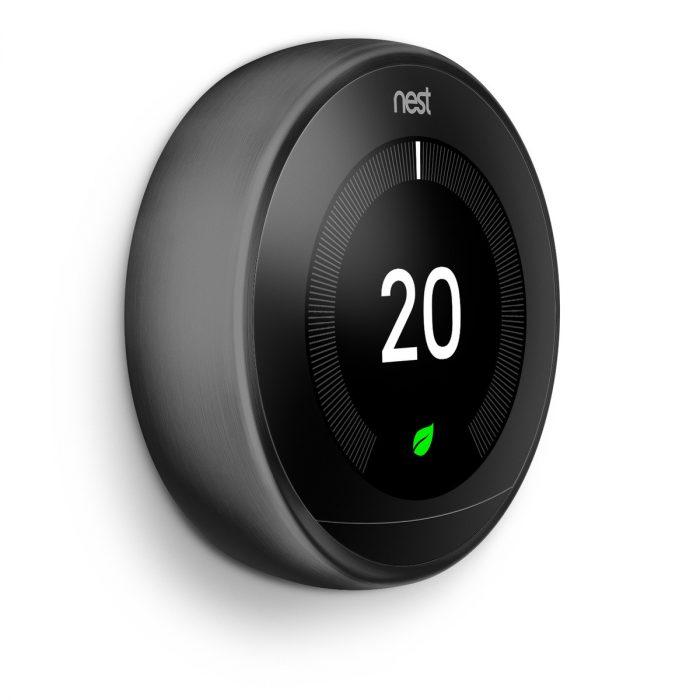 Nest 3rd Generation Thermostat Black