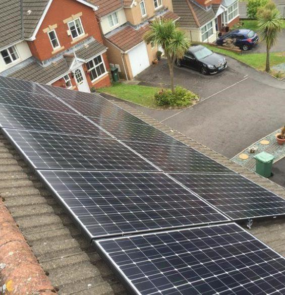 Installed Solar Panels