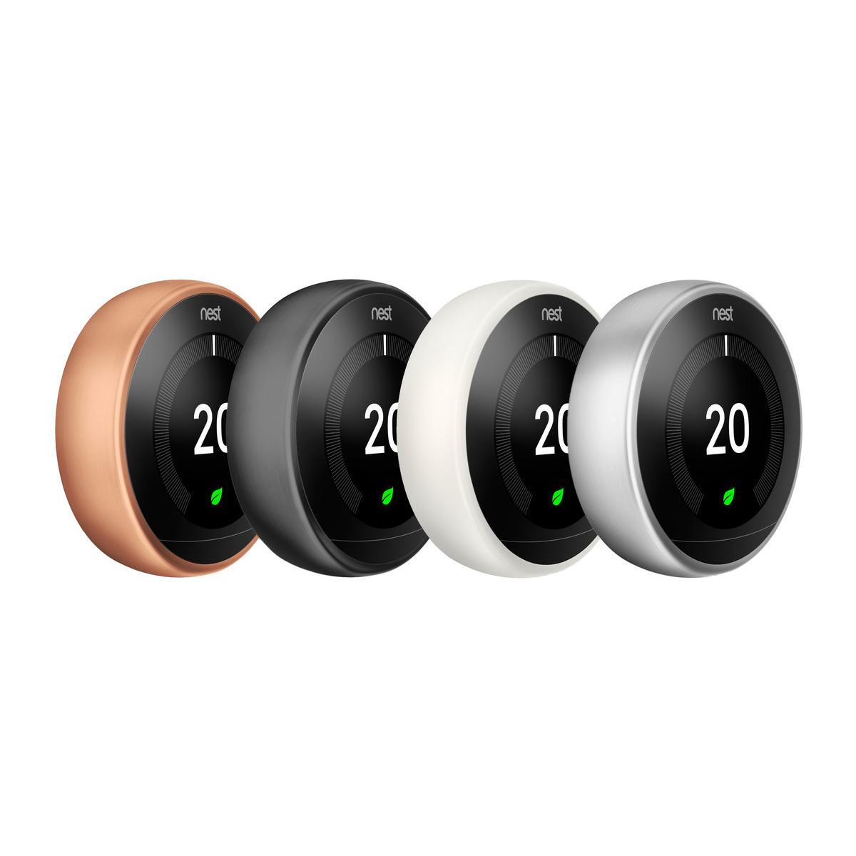 nest learning thermostat 3rd generation bronze forever. Black Bedroom Furniture Sets. Home Design Ideas