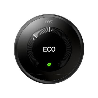 Nest 3rd Generation Thermostat Black