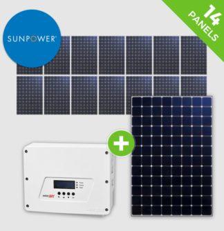 14 Panels – Solaredge – Sunpower