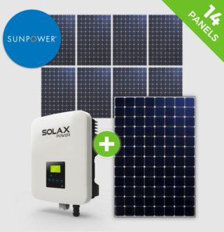 8 Panels – Sunpower