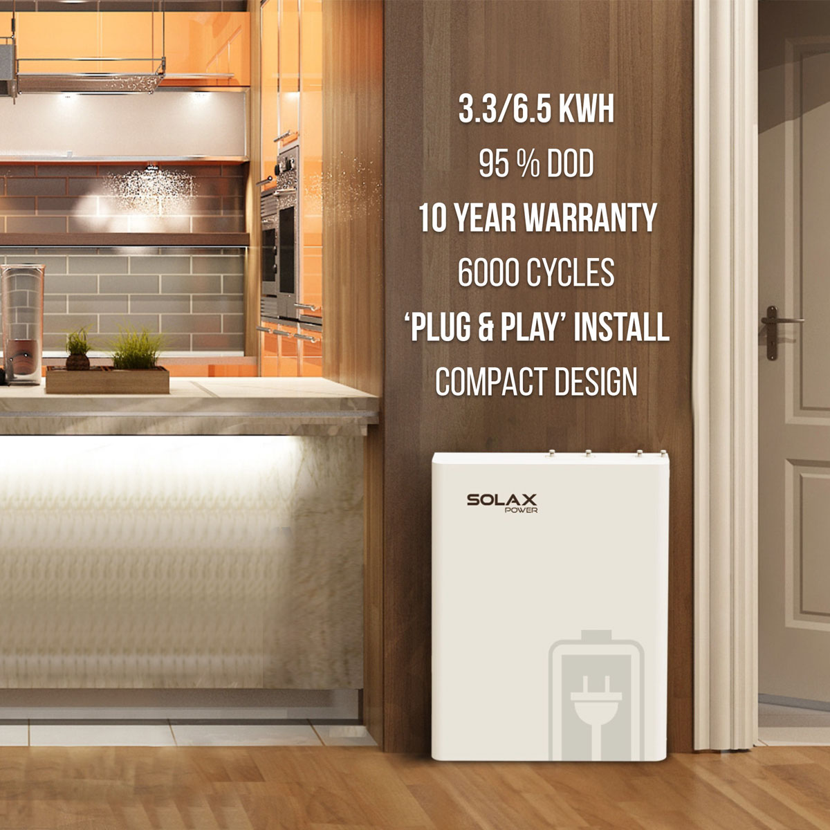 SolaX LG Battery Storage 3 3kwh - Forever Green Products